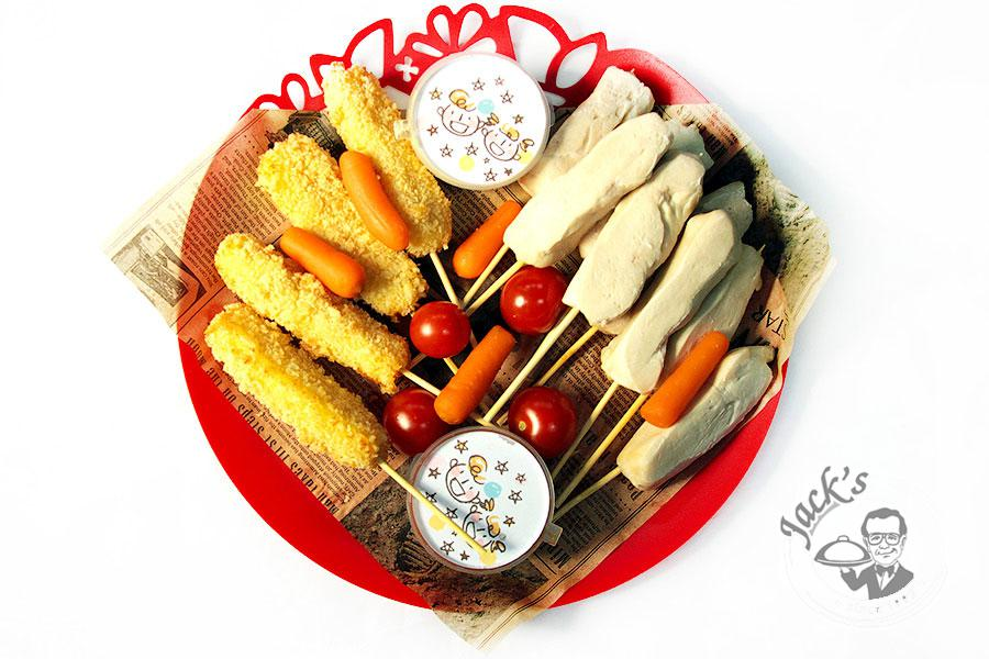 "Assorted ""Cheese & Chicken Sticks"" 690 g"