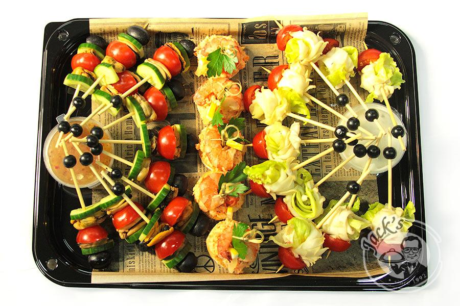 "Assorted Seafood Canape ""Vernazza"" 27 pcs"