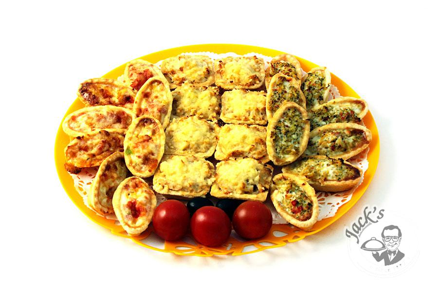 "Assorted Tartlets ""Three Heroes"" 24 pcs"
