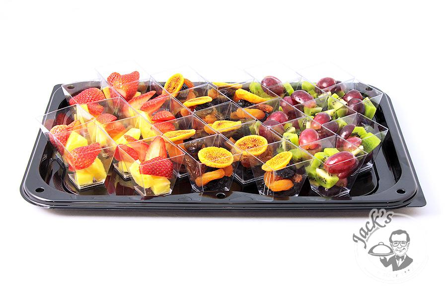 "Large Assorted Fruit, Berry & Dried Fruit Shotglasses ""A Breath of Freshness"" 27 pcs"