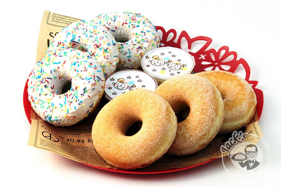 "Assorted Donuts ""Air Clouds"" 6 pcs"