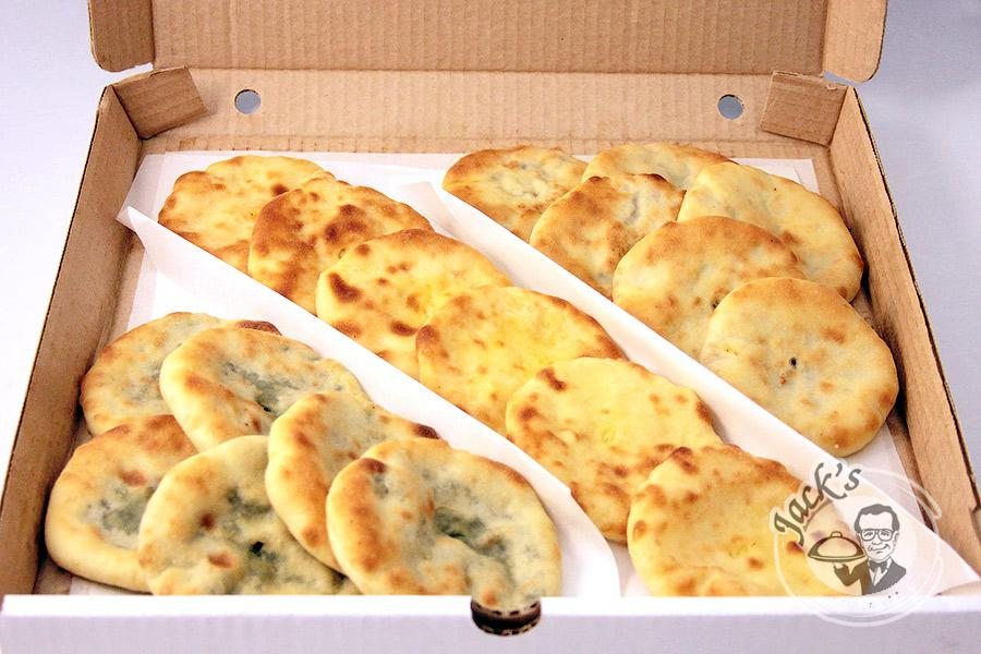 "Assorted Ossetian Piroshki (mini-pies) ""Treasure of Digora"" 18 pcs"