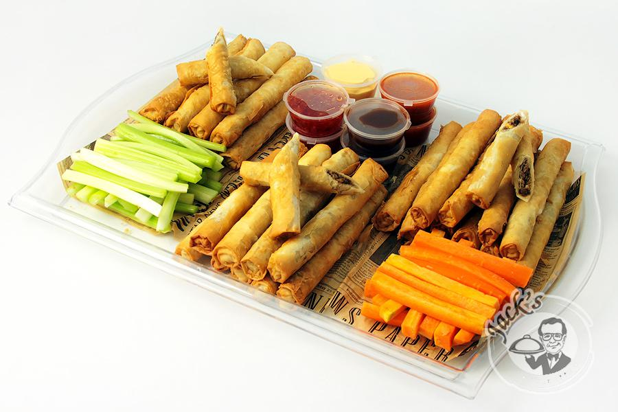 "Large Assorted Spring Rolls ""Cigar Collection Fidel C."" 30 pcs"