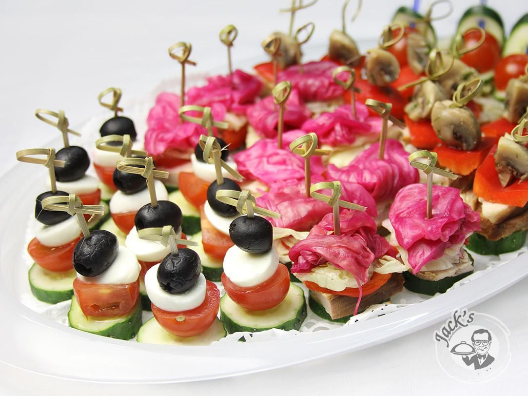 "Assorted Canape ""Provence"" 35/60 pcs"