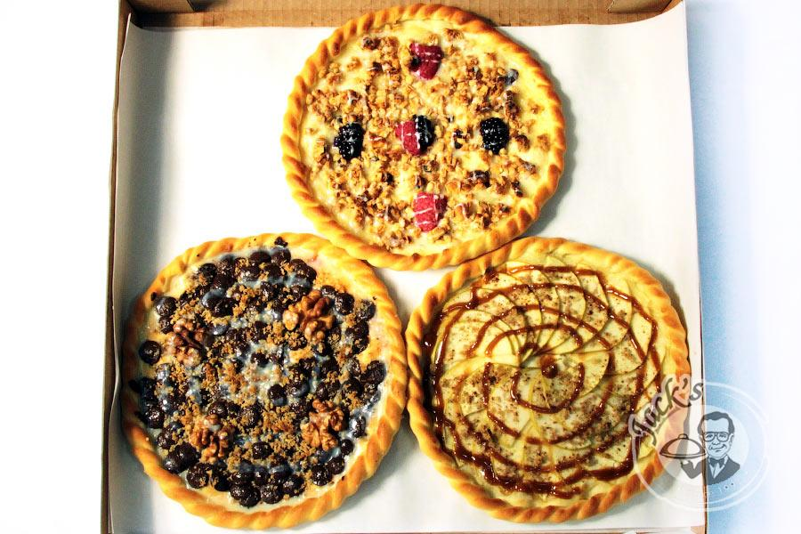 "Assorted Sweet Pizzas ""A Gift of the Fairies"" 20 cm, 3 pcs"