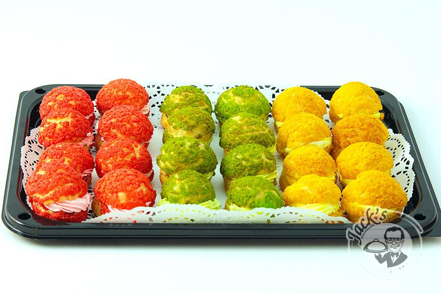 "Assorted Choux Pastry ""Evening in Cannes"" 24 pcs"