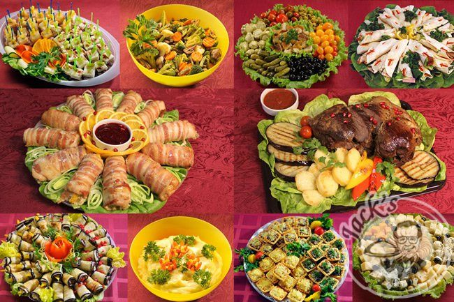 "Set ""Worldwide Feast"" (18-24 persons)"