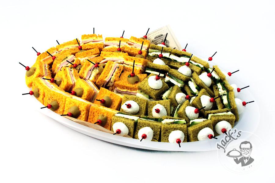 "Assorted Canape-Sandwiches ""Start Point"" 40 pcs"
