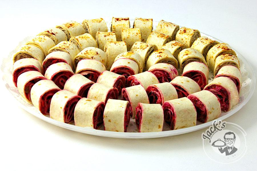 "Assorted Russian Wrap-Rolls ""Petrovsky Сourt Yard"" 2x24 pcs"