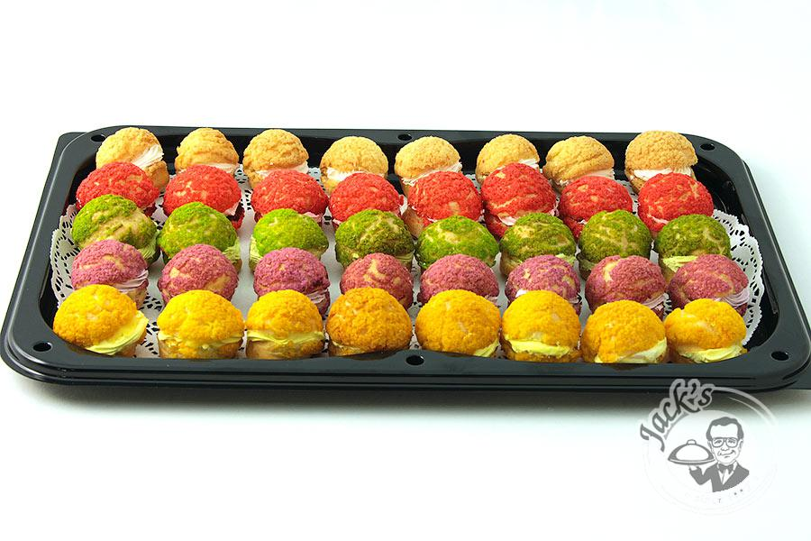 "Large Assorted Choux Pastry ""Cardinal's Treasure"" 40 pcs"