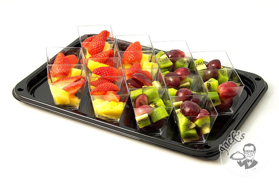 "Assorted Fruit & Berry Shotglasses ""Picnic on the Beach"" 16 pcs"