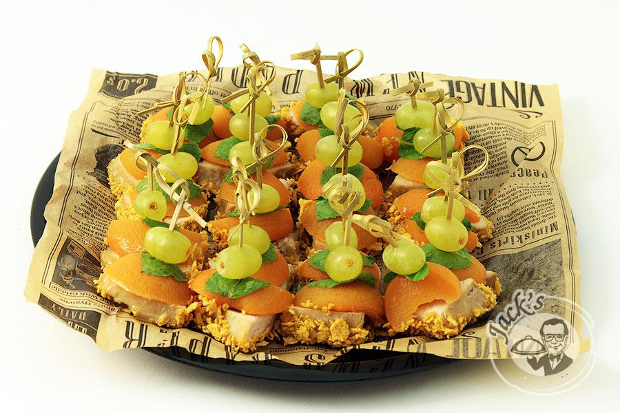 "Deluxe Turkey Canape ""Garden of Desire"" 24 pcs"
