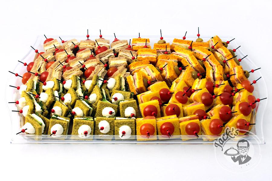 "Large Assorted Canape-Sandwiches ""Friendly Team"" 80 pcs"