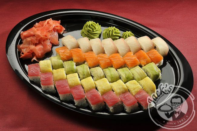 "Sushi Set ""Rainbow"" 40 pcs"