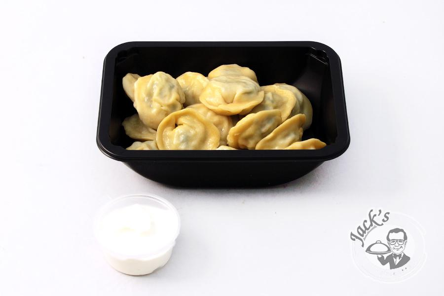 "Mother's Dumplings (broccoli & cauliflower) Lunch Box ""Evening on the Farm"" 350 g"
