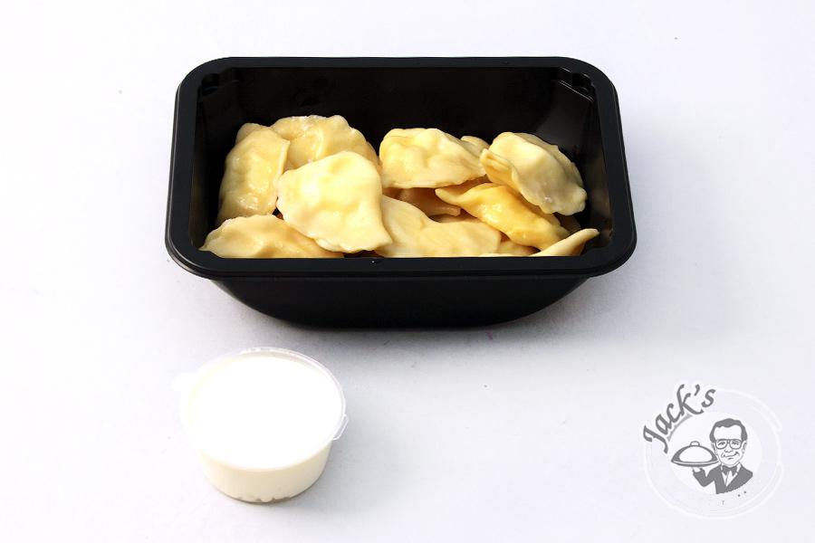 "Mother's Dumplings (cottage cheese & white chocolate) Lunch Box ""Happinnes Exists!"" 350 g"