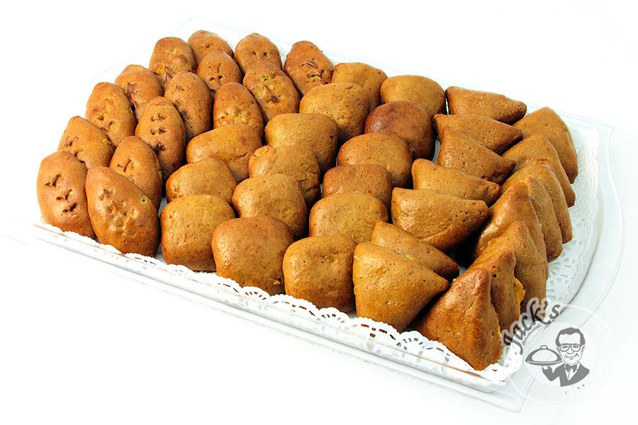 "Large Assortment of Rye Piroshki ""Lands of the Tsar"" 45 pcs"