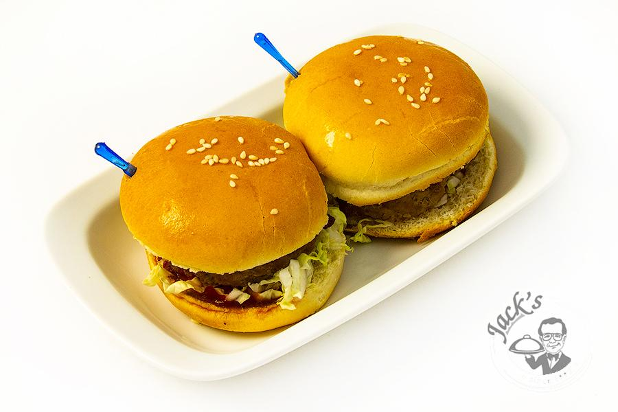 Teriyaki Mini Cheeseburgers (Sliders) 7 cm, 2 pcs