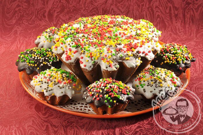 Russian Easter Bread (Kulich) Platter 9 pcs