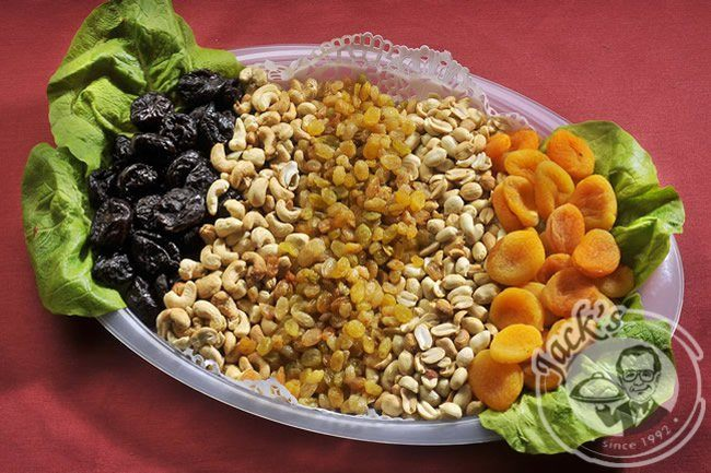 Nuts-Dried Fruit Platter Traditional 450/900 g