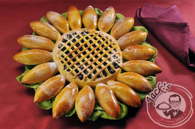"Russian Pirog (Pie) ""Sunflower"" 1100 g"