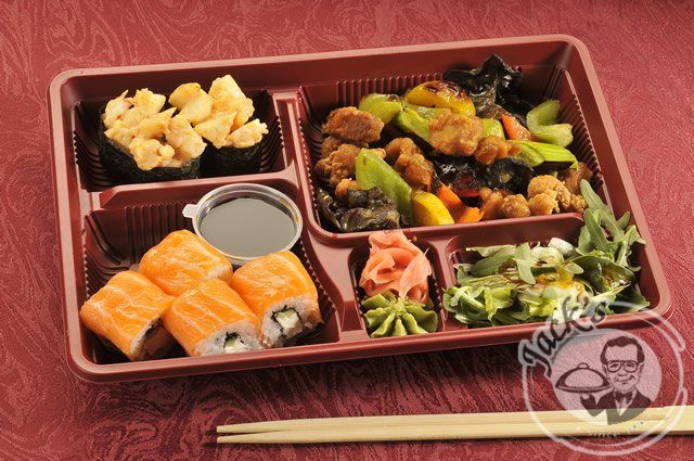 Chinese Bento-lunch №4