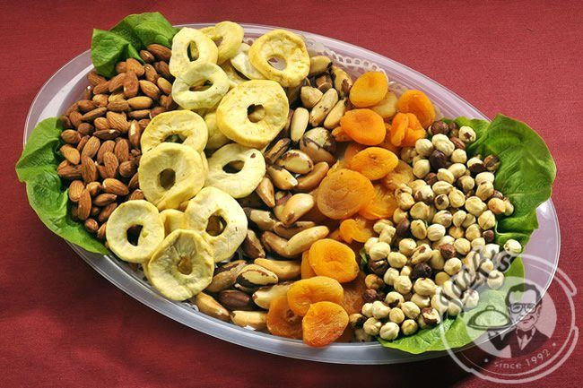 "Nuts-Dried Fruit Platter ""Exotic"" 430/850 g"