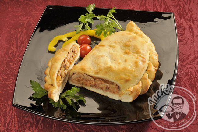"Calzone ""Naples"" with spicy pork 380 g"