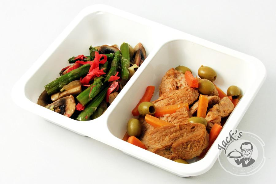 "Vegetarian Lunch Box ""Summer in Seoul"" 500 g"