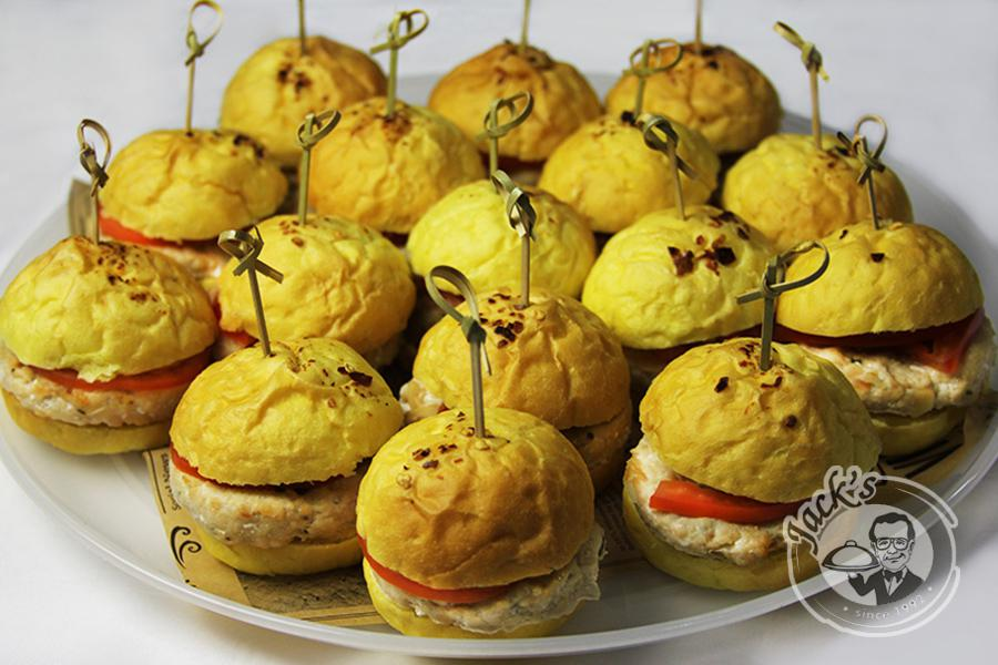 "Chinese Mini-Burgers ""The Sun of Guilin"" 9/16 pcs"