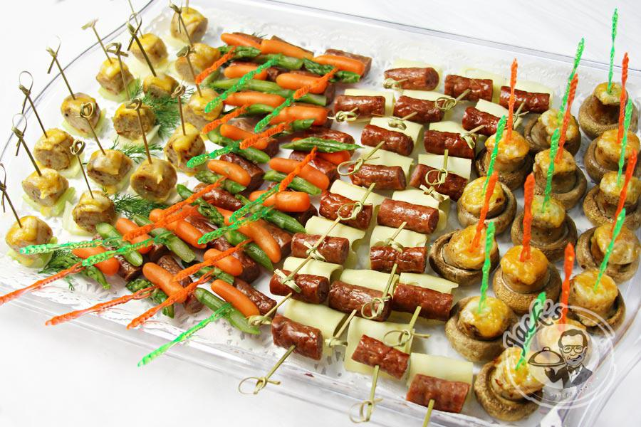 "Assorted Canapes ""Gourmet Taste Fireworks"" 70 pcs"