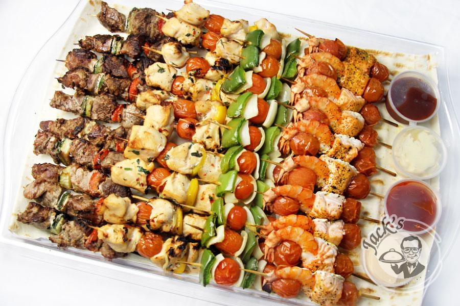 Assorted Mini-Kebabs «Reception of the Tlatoani» 40 pcs