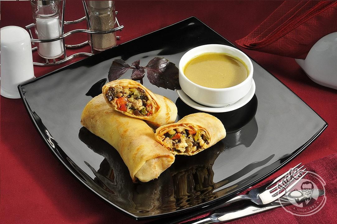 Chicken-Curry Crepes 2 pcs
