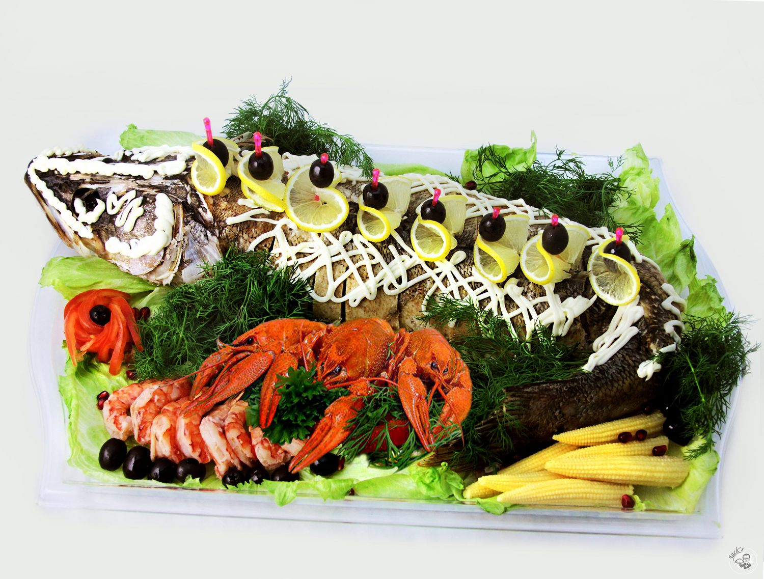 "Baked Russian Perch ""Wonderful Catch"" 3700 g"
