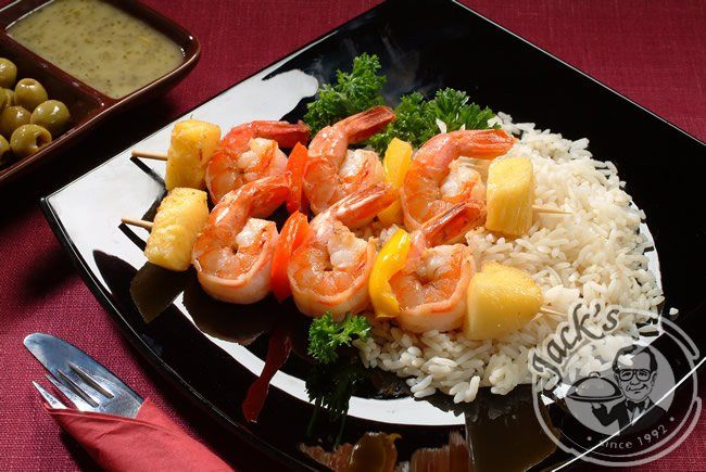 Tiger shrimps with pineapple 350/1300 g