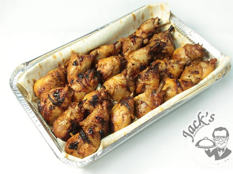 Jack's Whiskey-Bacon Chicken Drumsticks 1200 g