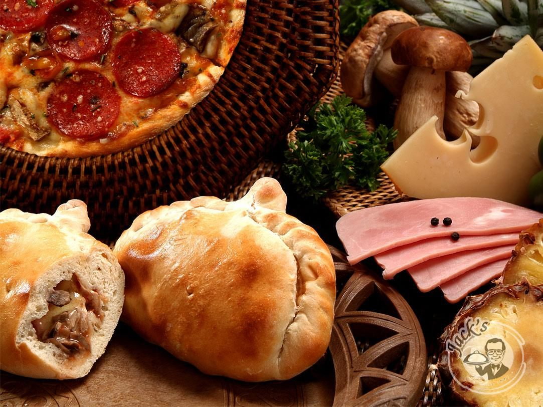 "Calzone ""Salerno"" loaded with ham & cheese 380 g"