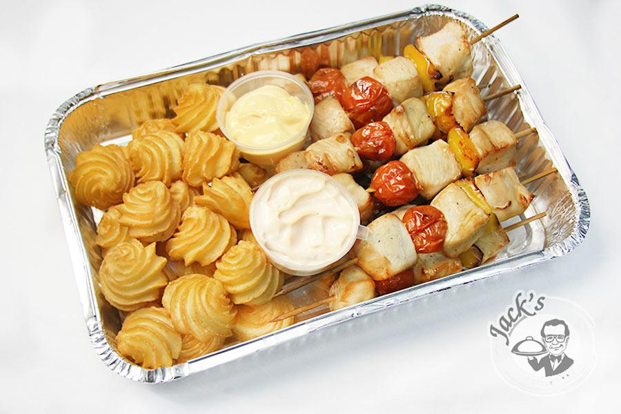 """Thai Mini-Kebobs &  Potatoes"" 1300/1400 g"
