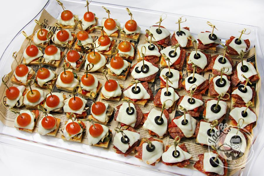 "Assorted Canape-Pizza ""Italian Reception"" 56 pcs"