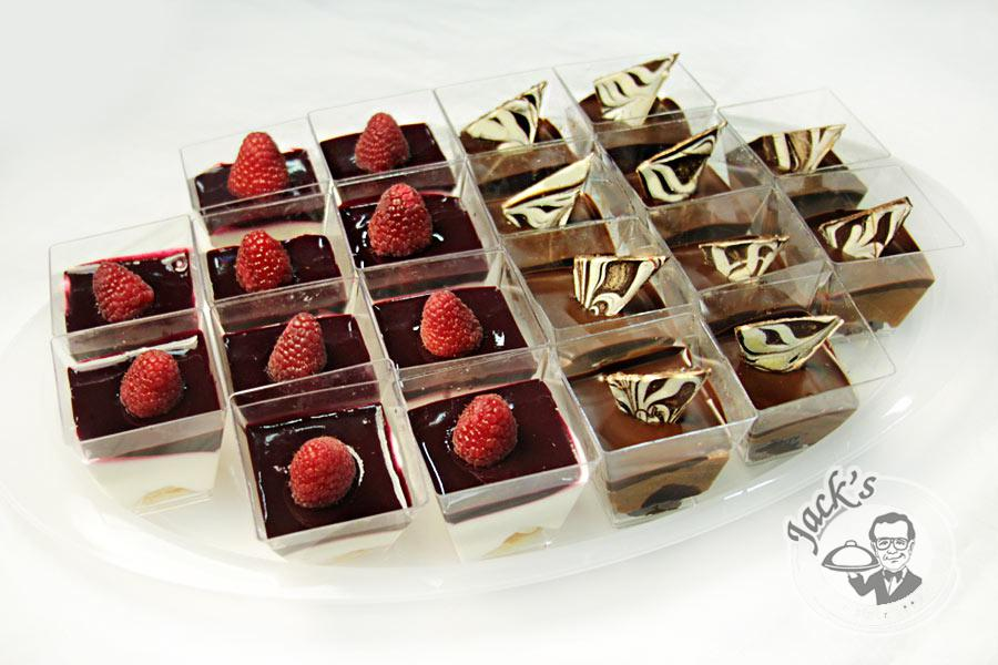 "Assorted Shotglass Desserts ""Evening Seduction"" 20 pcs"