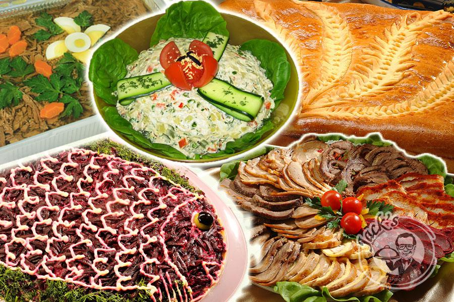 "Set ""Russian feast"" for 15-20 persons"