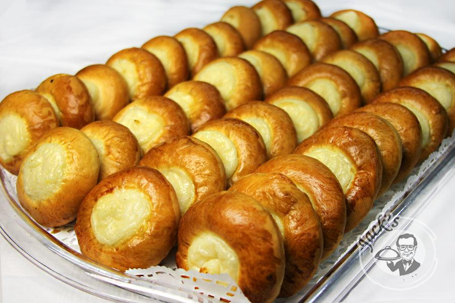 Cheesecake & Cottage Cheese Sweetbun 40 pcs