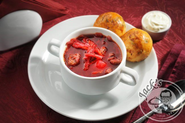"Russian Vegetable & Meat Soup ""Borshch"" 400 g"