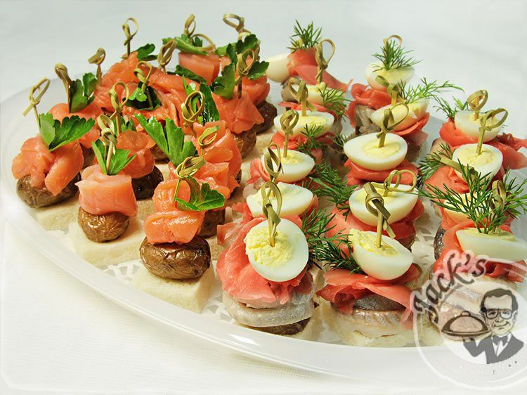 "Canape ""Salmon & Herring"" 18/30 pcs"