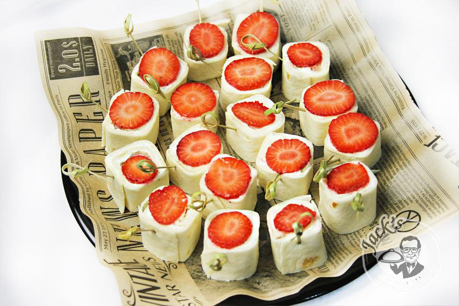 "Italian Wrap-Rolls with a Salmon ""Garda"" 18 pcs"